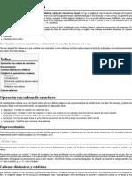 Cadena de caracteres - Wikipedia, la enciclopedia libre