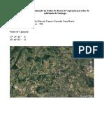 Solicitação Dados Bacia de Captação-Fazenda Cana Brava_Mata da Cama