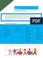 autism spectrum disorder  fact sheet