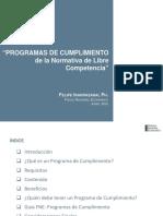PPT Programas de Cumplimiento (Junio 2012) FINAL