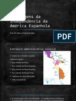 As origens da Independência da América Espanhola