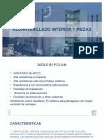 ALCANTARILLADO INTERIOR PIEZAS