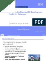 BI tookit -Datastage V1.0