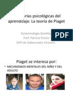 La teoría de Piaget presentación en power point
