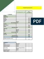 Presupuesto PD