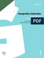 ZUSMAN. Geografías culturales.