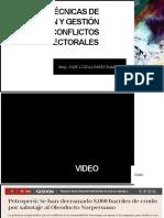 JNE Conflictos Electorales