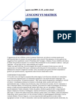 Berlusconi vs Matrix