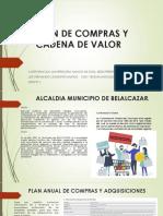 PLAN DE COMPRAS Y CADENA DE VALOR
