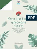 Manual basico de ginecologia natural Sinergias Cosmicas