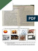 Ciencias Naturales taller 8  cambios quimicos
