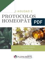 doenças agudas e portocolos homeopaticos Turma 5.0 on line