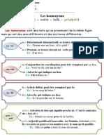 Orthographe - Les homonymes n°2 (Rappel n°7 + exercice).pdf