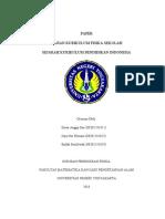 SEJARAH KURIKULUM PENDIDIKAN INDONESIA