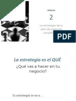 modulo 2 estrategias