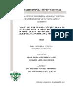 DISEÑO DE UNA SUBESTACION ELECTRICA DE UNA PLANTA