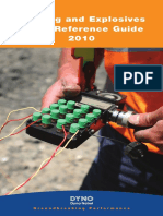 Blasting and Explosives Quick Reference Guide 2010 (Dyno)