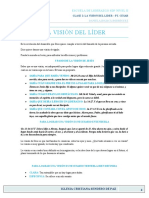 ELII CLASE 3 VISION DEL LIDER