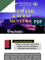 Sistem Fail & Surat Menyurat