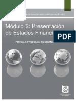 3.2 Presentación de Estados Financieros - Pruebas
