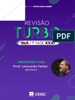 RT31 - Processo Civil - Prof. Leonardo Fetter