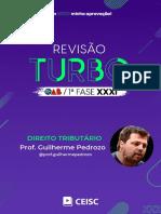 RT31 - Direito Tributário - Prof. Guilherme Pedrozo