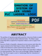 AUTOMATION  OF BMS   SYSTEM  OF  BOILER   USING PLC    LADDER    LOGIC