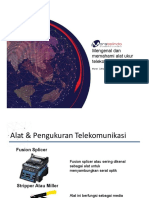 Mengenal dan Memahami fungsi Alat dan Ukur pada Telekomunikasi