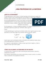 Material de apoyo - La densidad