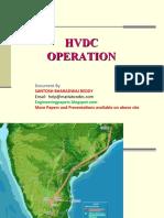 HVDC Operation& Maintenance