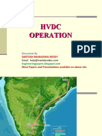 HVDC Operation& Maintenance