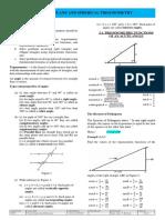 Module 2 - Trigonometry