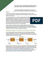 Distintos tipos de convertidores análogos y digitales