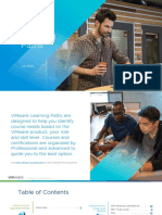 VMware Learning Paths (updated July 2020)