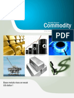 Bullion Commodity Reports for the Week (31st January - 4th February - 2011)