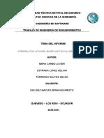 INTERRELACÍON DE REQUISITOS TEXTUALES Y BASADOS EN MODELOS