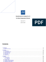 FORT BEND COUNTY - Fort Bend ISD - Pride Surveys 2006