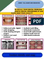 dental pamphlet