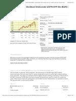 SPDR® S&P US Dividend Aristocrats UCITS ETF Dis (EUR)