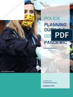 Guidance Note on Police Planning During the Covid-19 Pandemic-En