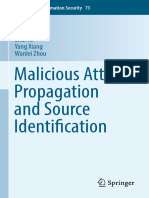 [Advances in Information Security 73] Jiaojiao Jiang, Sheng Wen, Bo Liu, Shui Yu, Yang Xiang, Wanlei Zhou   Malicious Attack Propagation and Source Identification (2019, Springer International Publishing)