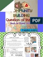 CommunityBuildingQuestionoftheDayBacktoSchoolEditionFREEBIE