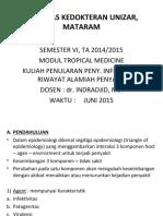 dr. Indrajid - penularan peny.infeksi & riwayat alamiah peny