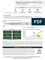 Valour Partners High Yield Opportunity Trust_Fact Sheet