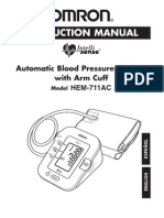 Omron HEM-711acn (2005) Instruction Manual