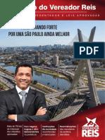 Revista Mandato Vereador Reis - Leis Aprovadas Projetos Aprovados