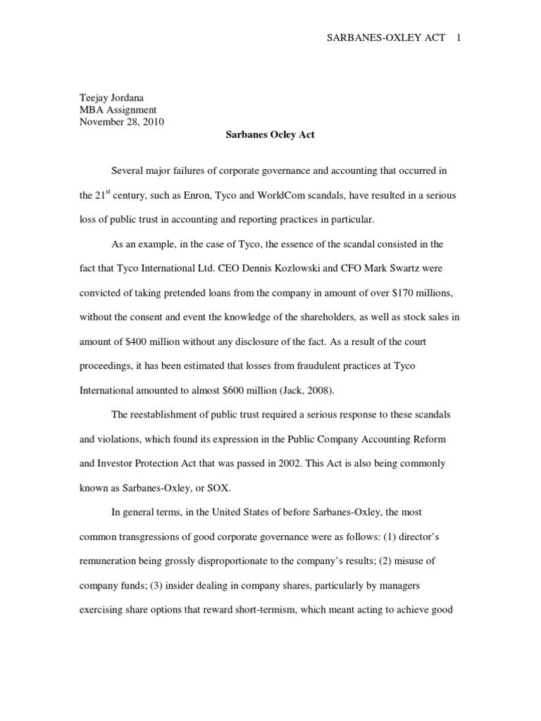 tyco international scandal aftermath