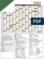 Abfallkalender Badenweiler 2020 (2)