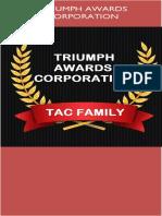 TRIUMPH AWARDS CORPORATION