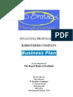 business plan assignment A level